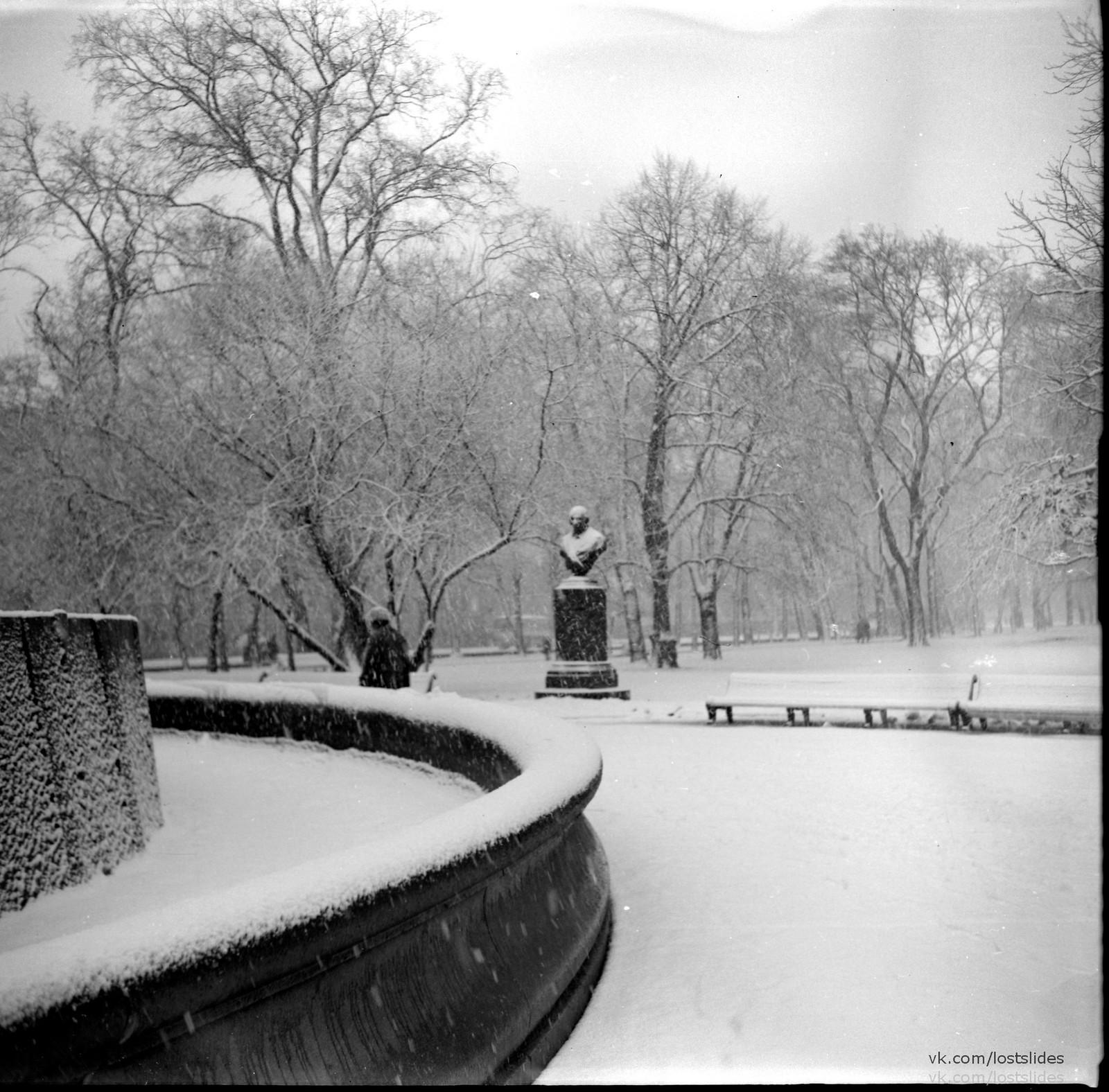 1982. В Летнем саду.