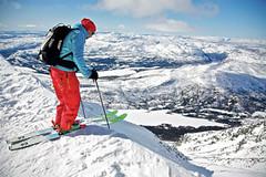 Gaustatoppen (Norsko): nejpodivnější lyžařský vlek na světě