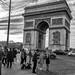 Scène à l'Arc de Triomphe