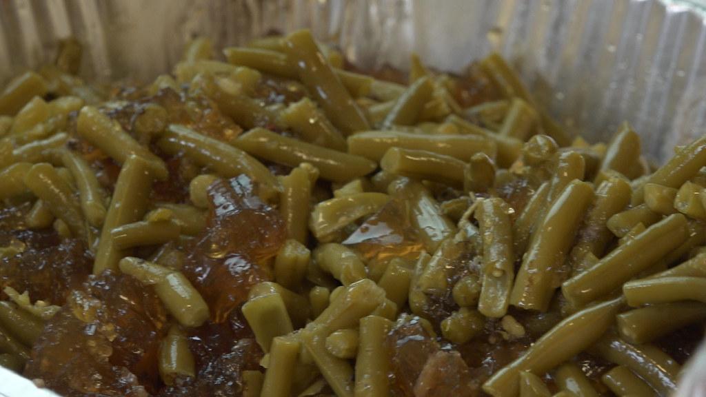 Green Beans & Pork Stock