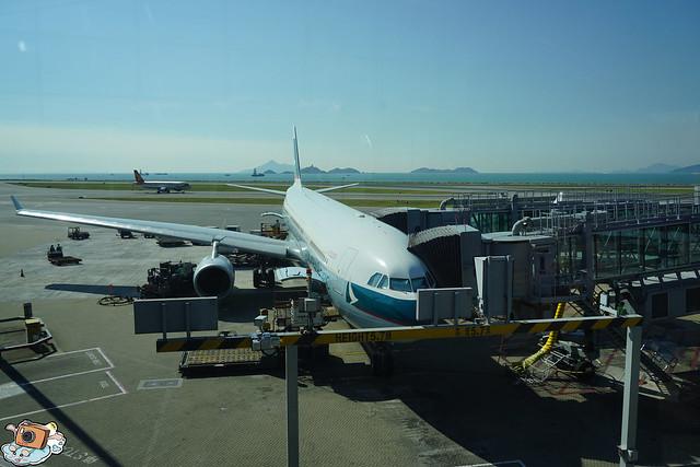 香港轉機回台灣