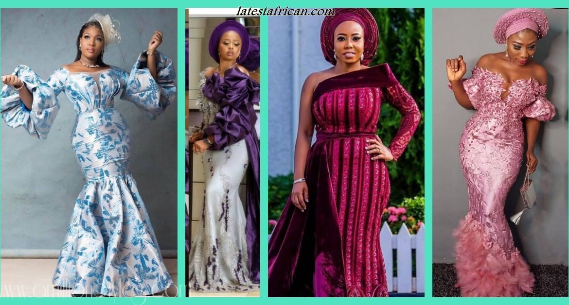 Amazing African Woman Dresses Styles 2019