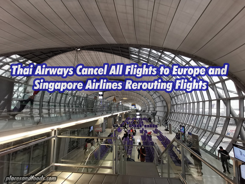 thai airways cancel flights to europe
