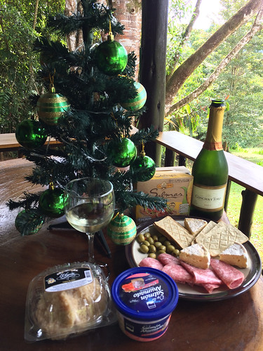Concha y Toro Brut with cheese at Christmas