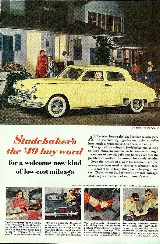 1949 Studebaker Land Cruiser