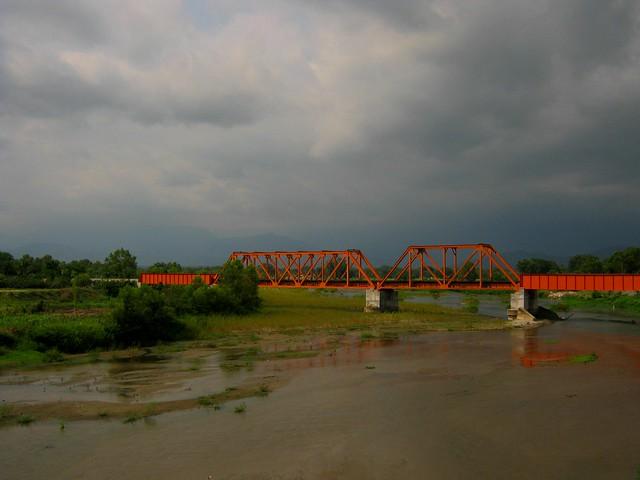 Puente de ferrocarril sobre el Río Cintalapa