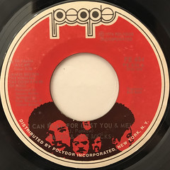 MACEO & THE MACKS:I CAN PLAY FOR(JUST YOU & ME)(LABEL SIDE-A)