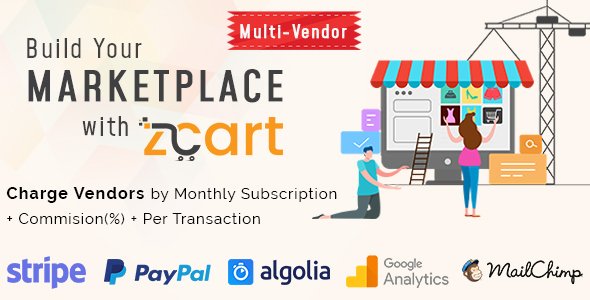 zCart v1 1 2 – Multi-Vendor eCommerce Marketplace | Mynulled me