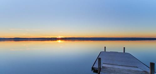 Sonnenuntergang - Sunset - Ammersee - 23