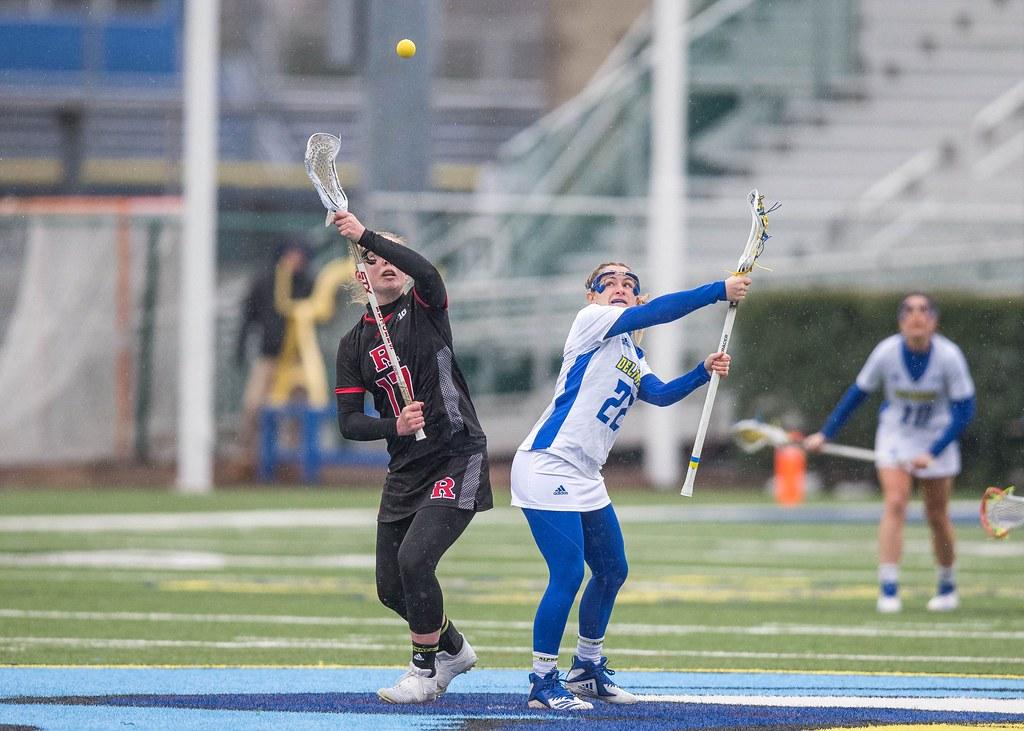 Delaware women's lacrosse falls to Rutgers in overtime loss