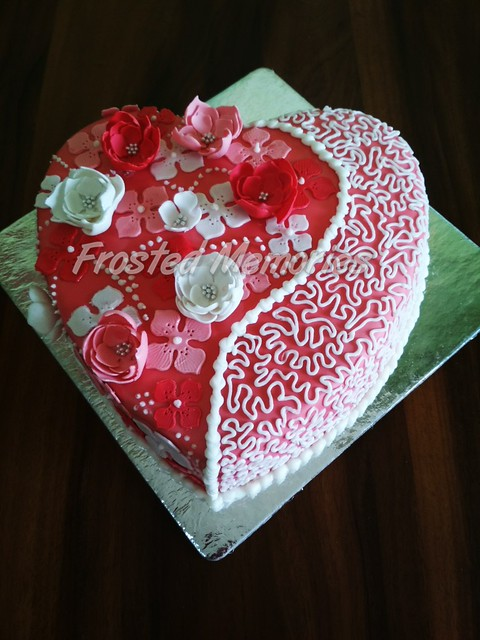 Cake by Anjali S Gupta of Frosted Memories