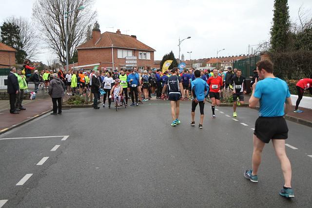 10 km - 1ère boucle - CDG 2019