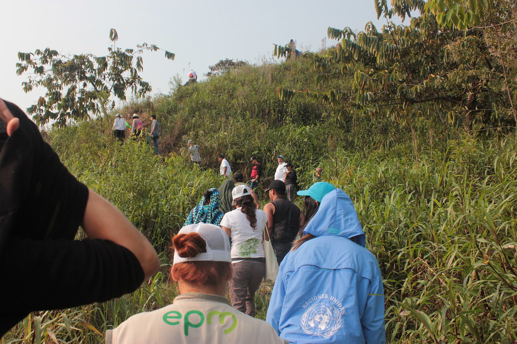 Recorrido Casa de La Vida, ETCR La Plancha, Anorí, Antioquia. Marzo 14-16