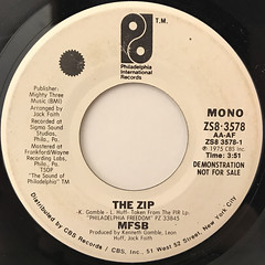 MFSB:THE ZIP(LABEL SIDE-B)