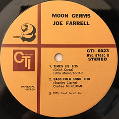JOE FARRELL:MOON GERMS(LABEL SIDE-B)