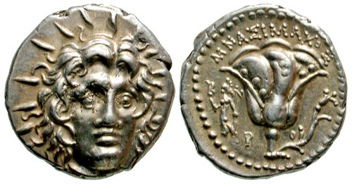 Rhodes Didrachm of Mnasimachos