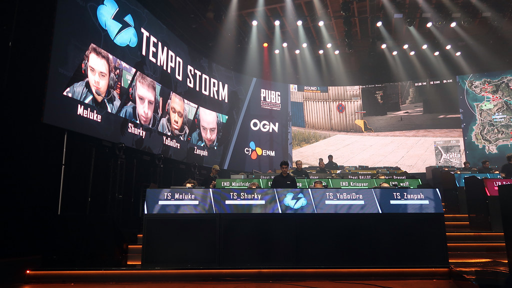 Tempo Storm at the National PUBG League