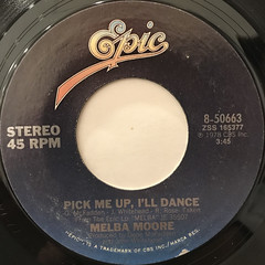 MELBA MOORE:PICK ME UP, I'LL DANCE(LABEL SIDE-A)