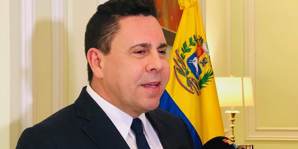 Embajador Samuel Moncada declara a Telesur en Nueva York