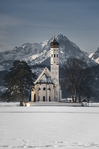 St. Coloman in Winter from Toni Hoffmann