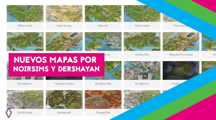Nuevo diseño de mapas de NoirSims y DerShayan