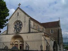 20080519 25909 Jakobus Ortschaft Kirche Fassade Rosette Kreuz - Photo of Marmeaux