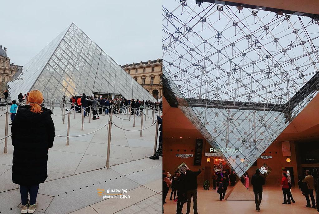 【2020巴黎羅浮宮必看作品】蒙娜麗莎|米洛的維納斯|薩莫特拉斯的勝利女神|Musée du Louvre法國必來! @GINA LIN