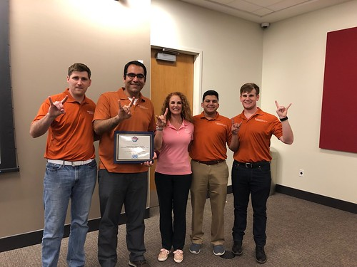 UT PGE students placed second in the regional PetroBowl competition, qualifying them for the international contest this fall.