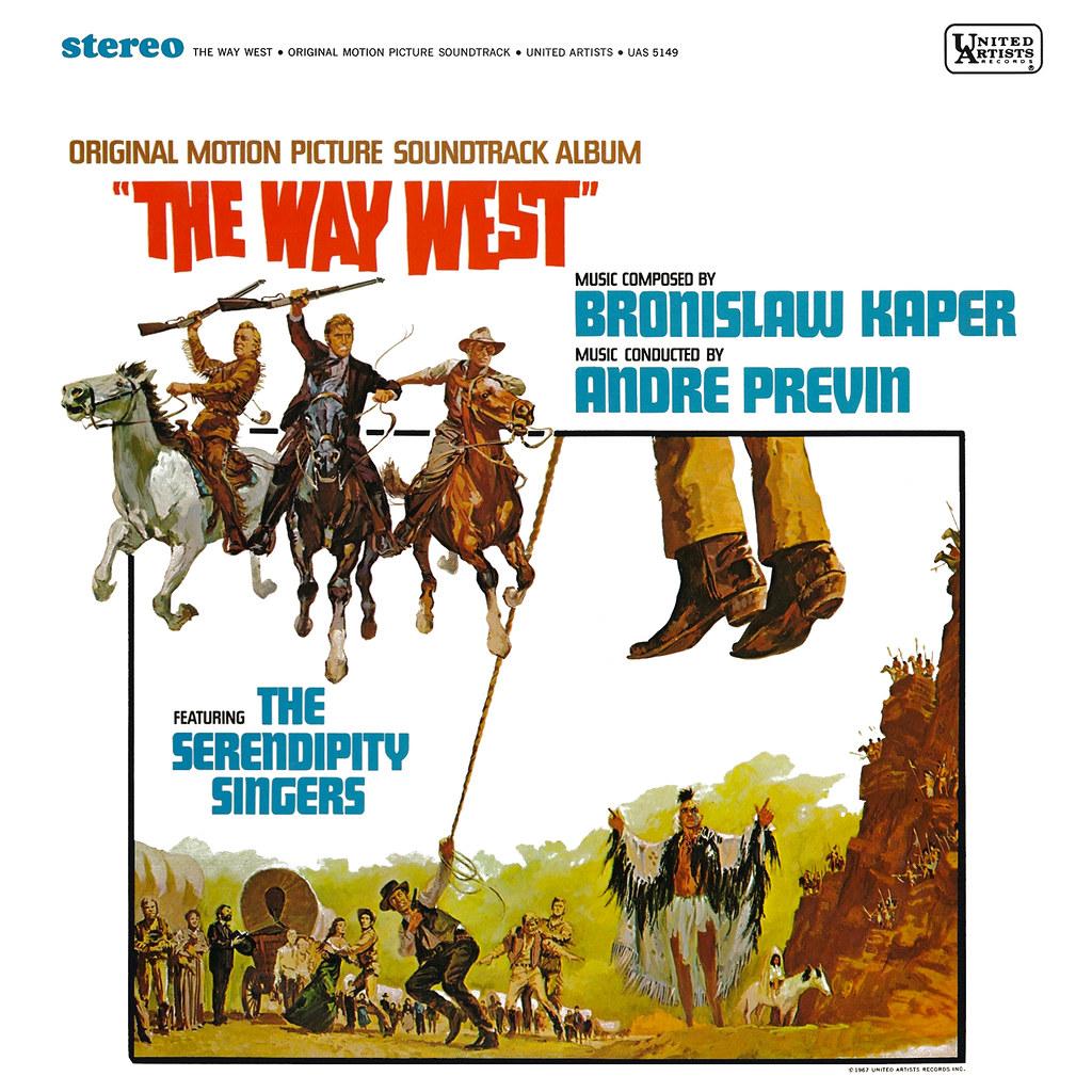 Bronislaw Kaper - The Way West