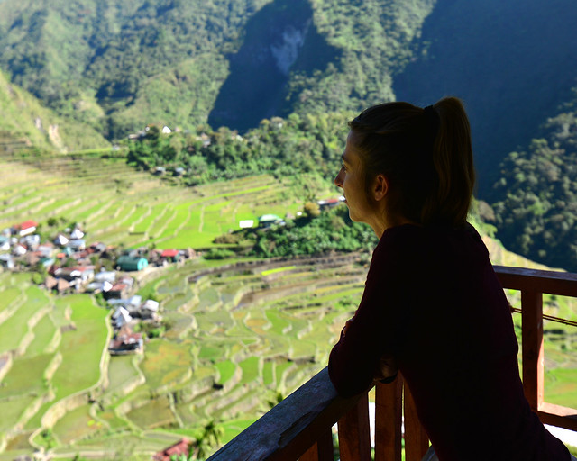 Vistas desde el Transient House de Batad