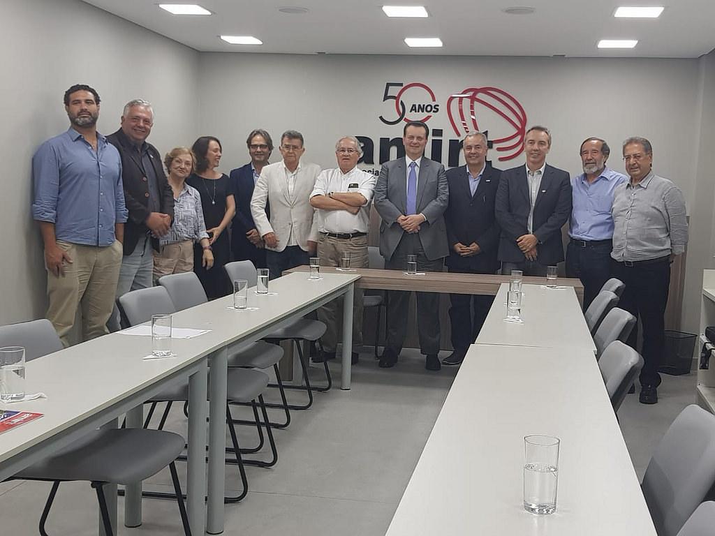 16/10/2018. Ministro Gilberto Kassab durante reunião com a diretoria da Amirt Associação Mineira de Rádio e Televisão.