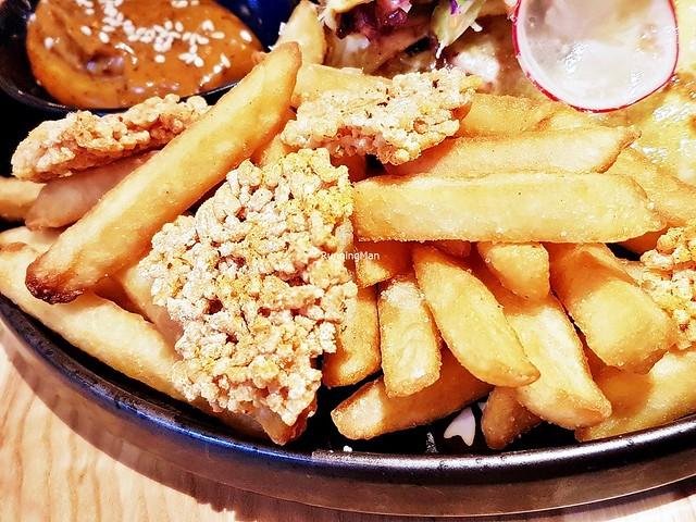 Spiced Fries & Rice Krispies