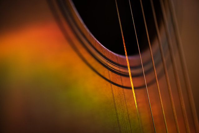 20190101 Guitar Abstract