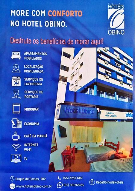 More com conforto no Hotel Obino de São Gabriel. Saiba mais!