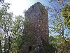 La tour du Château du Nideck - Photo of Oberhaslach