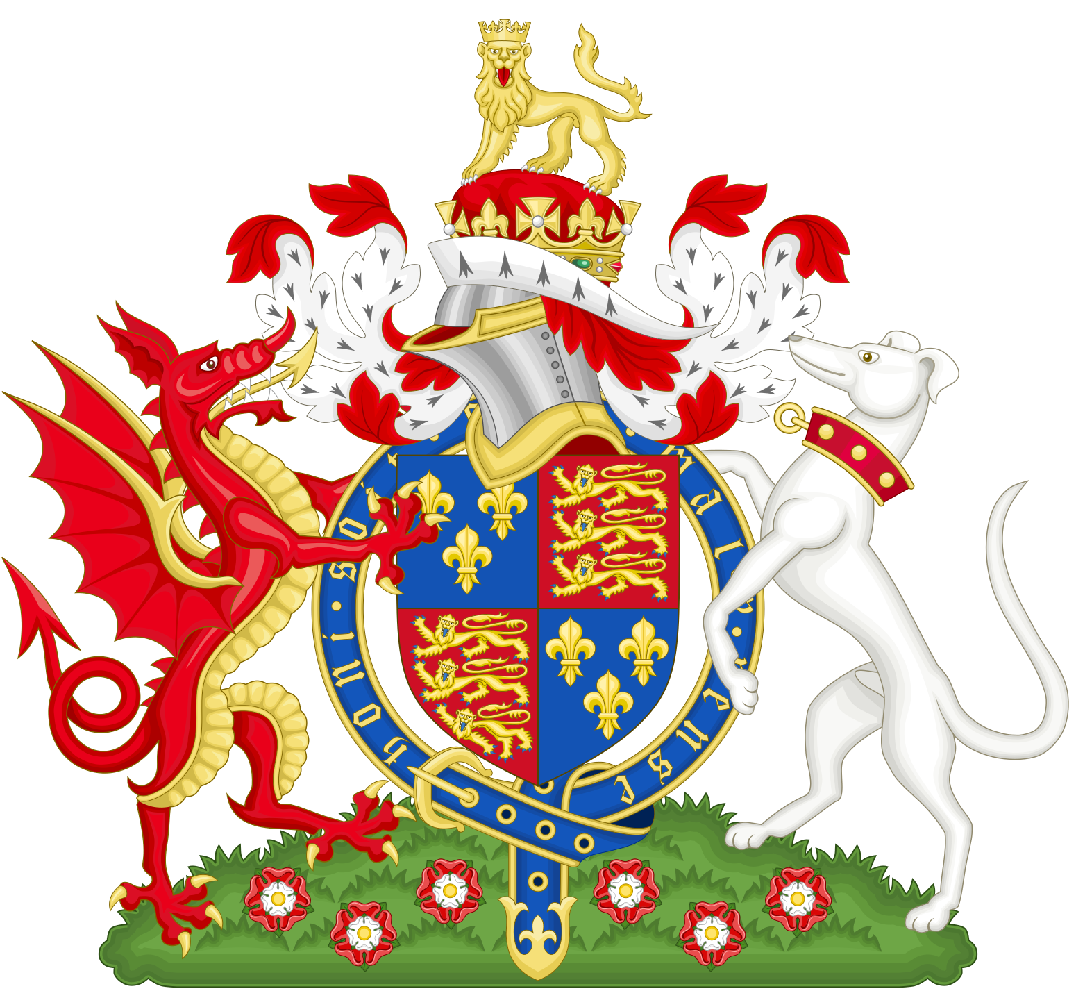 Coat of Arms of Henry VII of England, 1485-1509