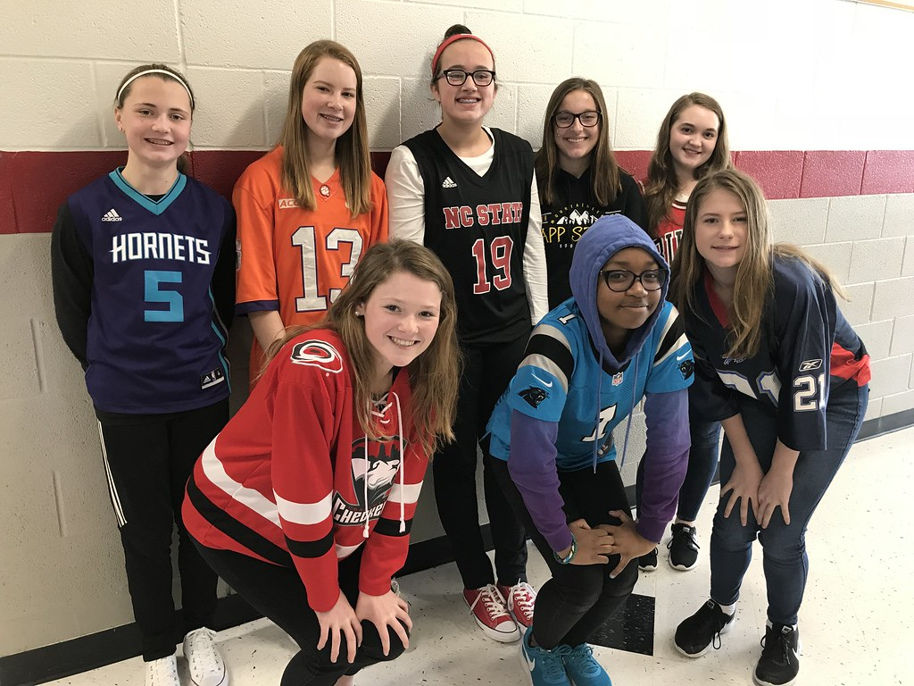 Middle School Spirit Week 2019