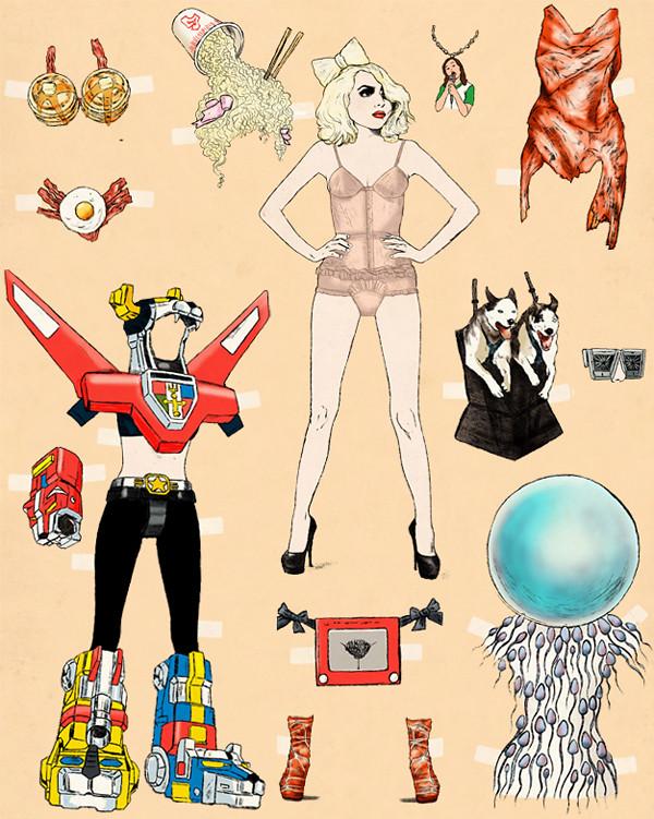 Gaga GQ Mag 2