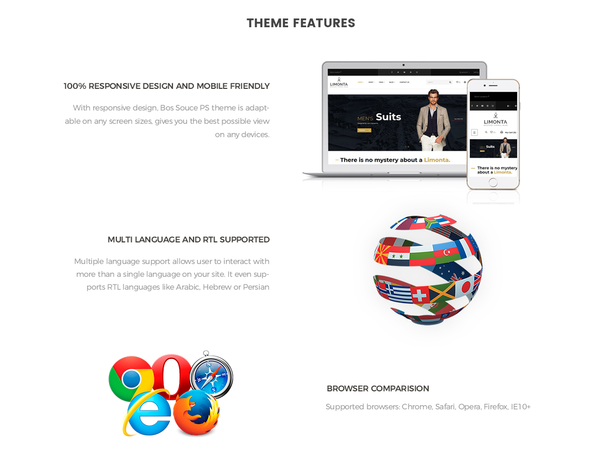 Theme Features for Men Fashion Prestashop theme-Leotheme