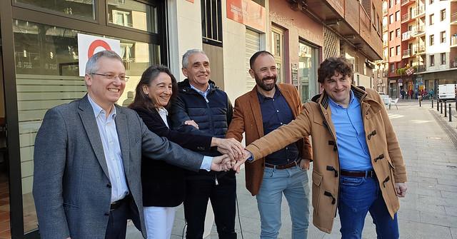 Presentación candidato alcalde de Tolosa