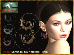 Bliensen - Onda - Earrings