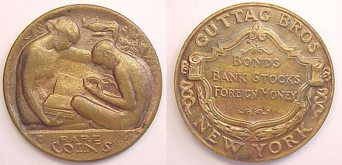 JMS Guttag bros. Rare Coins obv&rev
