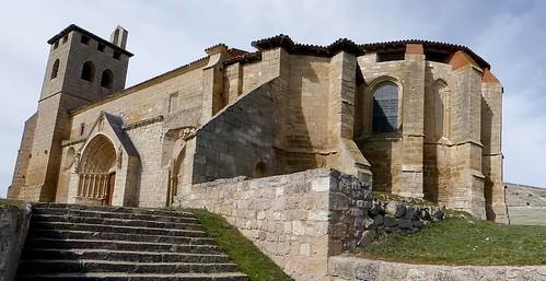 Los Balbases (Burgos-España). Iglesia de San Millán