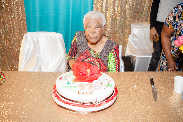Lillie Johnson's 97th Birthday Celebration
