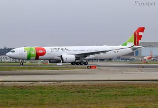F-WWKJ Airbus A330 Neo Air Portugal
