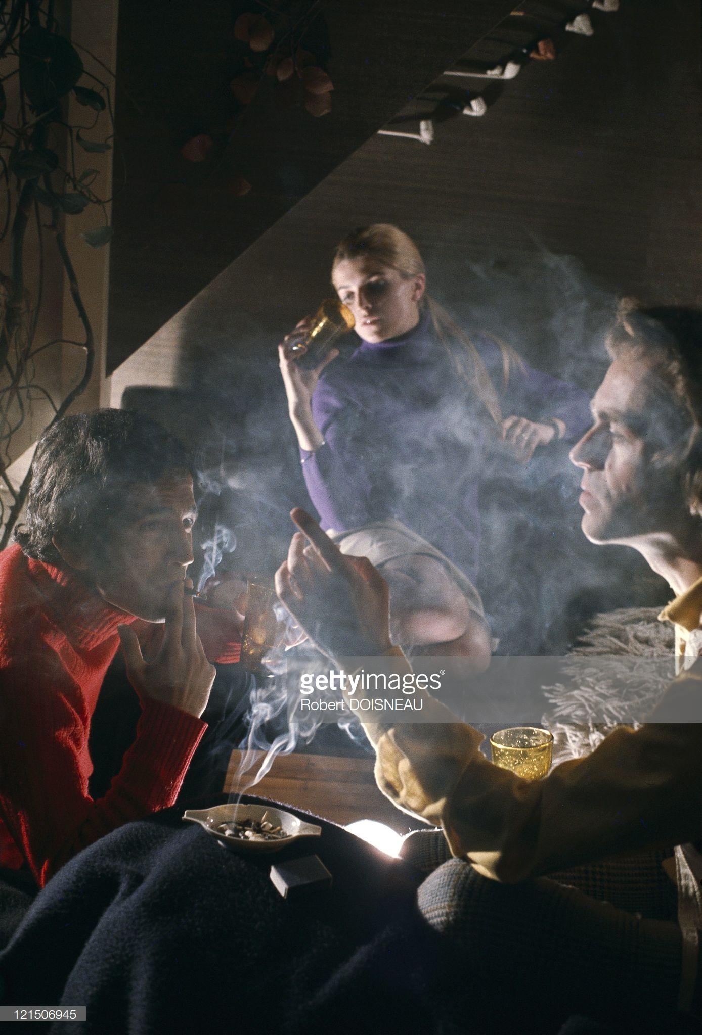 Беседа в табачном дыму