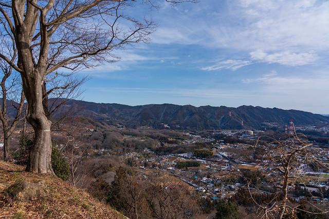 南高尾の山々@桜山展望台