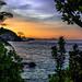 Dawn tones Seychelles