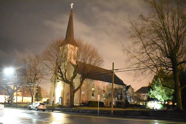 Historic Catholic Church in Clarksville