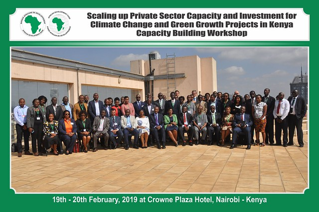 Scaling up Private Sector Capacity and Investment for Climate Change and Green Growth Projects in Kenya Capacity Building Workshop. February 19-20, 2019